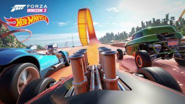 Forza Horizon 3 Hot Wheels Racetrack View
