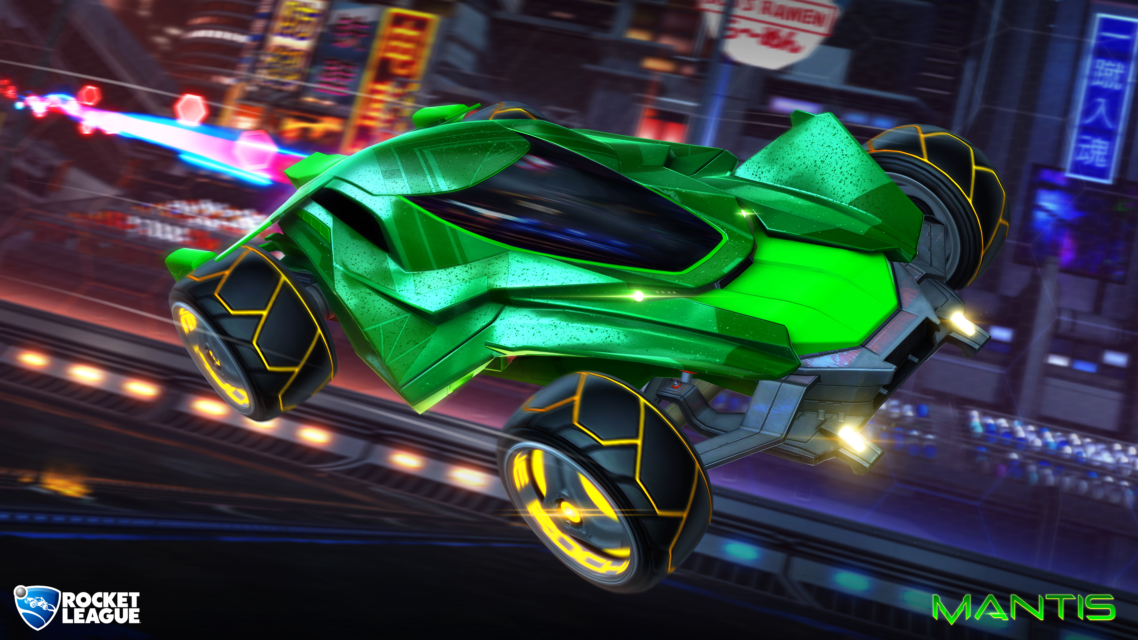 New Battle-Car Mantis